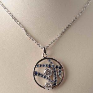 Creation Pendentif Diamant  - Création Le Caroubier Bijoutier Joaillier Tours