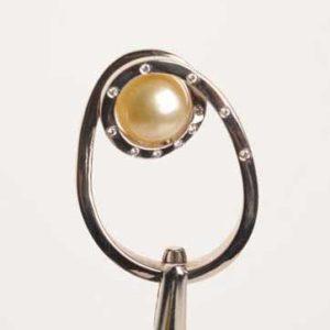7bague Perle Gold Et Diaments Le Caroubier Joaillier Tours 37