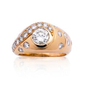 Le Caroubier Bague Diamant